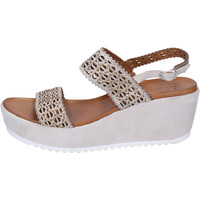 Chaussures Femme Sandales et Nu-pieds Femme Plus BJ892 Beige
