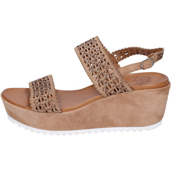 Chaussures Femme Sandales et Nu-pieds Femme Plus BJ895 Marron