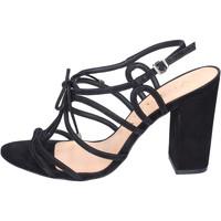 Chaussures Femme Sandales et Nu-pieds Vicenza BJ910 Noir