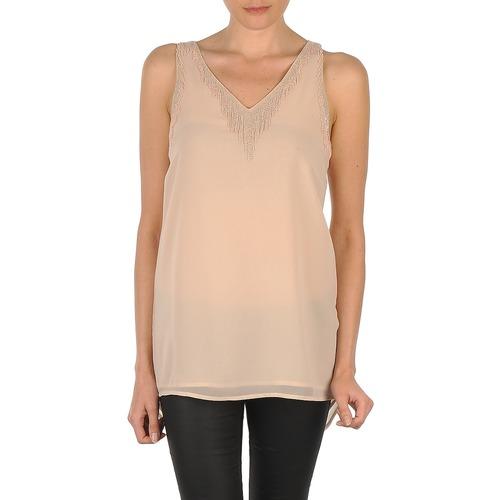Vêtements Femme Débardeurs / T-shirts sans manche Vero Moda PEARL SL LONG TOP Rose
