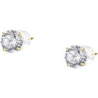 Montres & Bijoux Femme Boucles d'oreilles Cleor Puces  en Argent 925/1000 Jaune et Oxyde Jaune