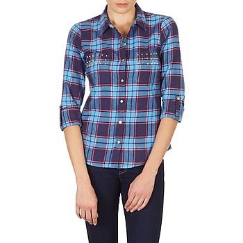 Vêtements Femme Chemises / Chemisiers Vero Moda MEW LS SHIRT TN WALL Bleu