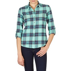 Vêtements Femme Chemises / Chemisiers Vero Moda MEW LS SHIRT TN WALL Vert