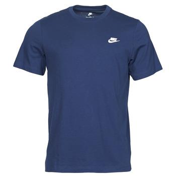Vêtements Homme T-shirts manches courtes Nike NIKE SPORTSWEAR CLUB Bleu / Blanc