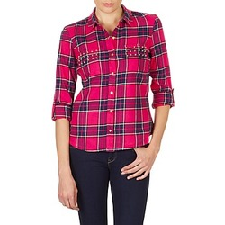 Vêtements Femme Chemises / Chemisiers Vero Moda MEW LS SHIRT TN WALL Rose