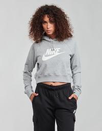 Vêtements Femme Sweats Nike NIKE SPORTSWEAR ESSENTIAL Gris / Blanc