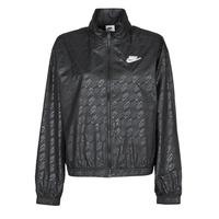 Vêtements Femme Coupes vent Nike W NSW WVN GX JKT FTRA Noir / Blanc