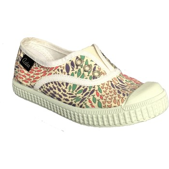 Chaussures Fille Baskets basses Aster Miley Blanc multi