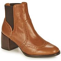 Chaussures Femme Bottines Chie Mihara OGUN Cognac