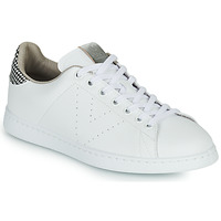 Chaussures Femme Baskets basses Victoria TENIS VEGANA/ GALES Blanc / Gris