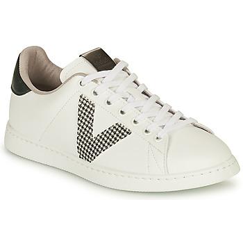Chaussures Femme Baskets basses Victoria TENIS VEGANA GAL Blanc / Gris