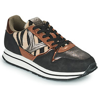 Chaussures Femme Baskets basses Victoria COMETA MULTI Noir / Marron