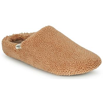 Chaussures Femme Chaussons Victoria NORTE BORREGUITO Beige
