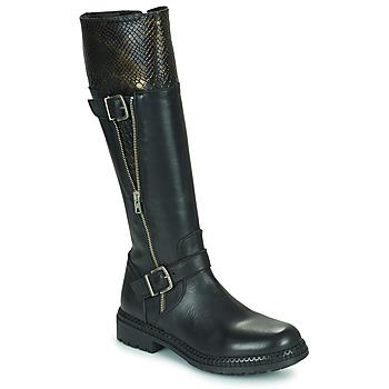 Chaussures Femme Bottes ville Regard CACHY Noir