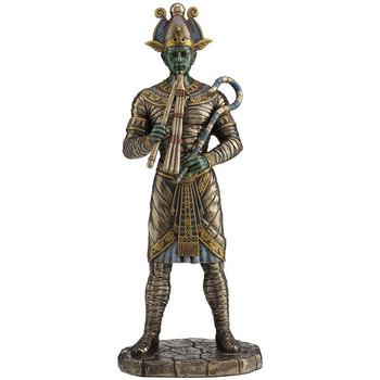 Maison & Déco Statuettes et figurines Zen Et Ethnique Statuette Dieu Egyptien Osiris en résine aspect bronze Marron