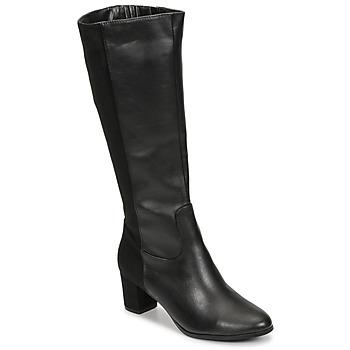 Chaussures Femme Bottes ville Spot on F50366 Noir