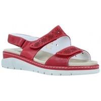 Chaussures Femme Sandales et Nu-pieds Suave Sandales compensées pour femme par  3362 Rouge