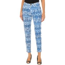 Vêtements Femme Chinos / Carrots Desigual Pantalon long Bleu
