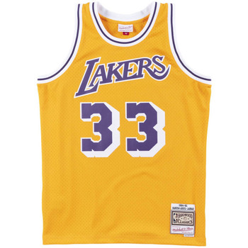 Vêtements Homme Débardeurs / T-shirts sans manche Les Iles Wallis et Futuna Maillot NBA Kareem Abdul-Jabba Multicolore