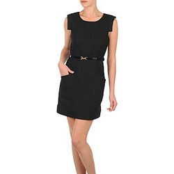Vêtements Femme Robes courtes Vero Moda STITCH SL SHORT DRESS KM Noir
