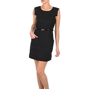 Vêtements Femme Robes courtes Vero Moda STITCH SL SHORT DRESS KM Noir