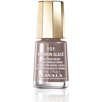 Beauté Femme Vernis à ongles Mavala Nail Color 151-marron Glace  5 ml