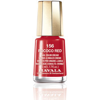 Beauté Femme Vernis à ongles Mavala Nail Color 156-rococo Red  5 ml