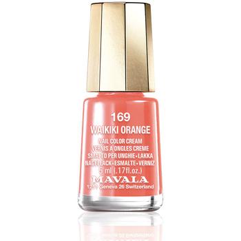 Beauté Femme Vernis à ongles Mavala Nail Color 169-waikiki Orange  5 ml