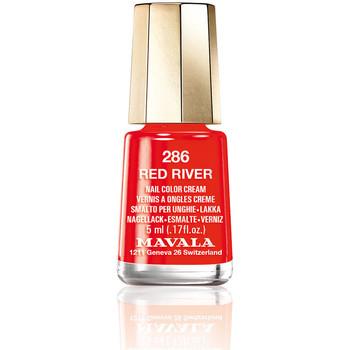 Beauté Femme Vernis à ongles Mavala Nail Color 286-red River  5 ml