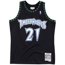 Vêtements Homme Débardeurs / T-shirts sans manche Mitchell And Ness Maillot NBA Kevin Garnett Minn Multicolore