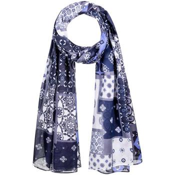Accessoires textile Femme Echarpes / Etoles / Foulards Allée Du Foulard Chèche Patchy Gris