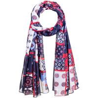 Accessoires textile Femme Echarpes / Etoles / Foulards Allée Du Foulard Chèche Patchy Violet