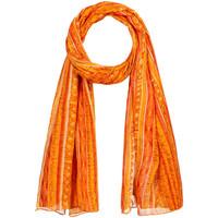 Accessoires textile Femme Echarpes / Etoles / Foulards Allée Du Foulard Chèche Naja orange