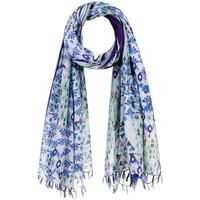Accessoires textile Femme Echarpes / Etoles / Foulards Allée Du Foulard Foulard fantaisie Polonia Bleu