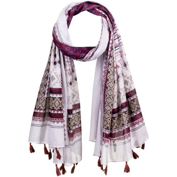Accessoires textile Femme Echarpes / Etoles / Foulards Allée Du Foulard Foulard fantaisie Inti violet