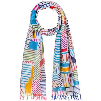 Accessoires textile Femme Echarpes / Etoles / Foulards Allée Du Foulard Foulard fantaisie Gribouille multicolore