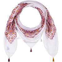 Accessoires textile Femme Echarpes / Etoles / Foulards Allée Du Foulard Foulard carré TexCoco violet