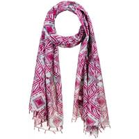Accessoires textile Femme Echarpes / Etoles / Foulards Allée Du Foulard Foulard fantaisie Adamantem Fuchsia