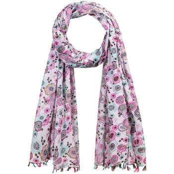 Accessoires textile Femme Echarpes / Etoles / Foulards Allée Du Foulard Foulard OxyFlor rose