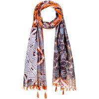 Accessoires textile Femme Echarpes / Etoles / Foulards Allée Du Foulard Foulard Caral Orange