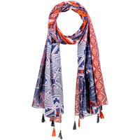 Accessoires textile Femme Echarpes / Etoles / Foulards Allée Du Foulard Foulard Caral Marine