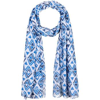 Accessoires textile Echarpes / Etoles / Foulards Allée Du Foulard Chèche Angulo Bleu