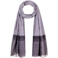 Accessoires textile Femme Echarpes / Etoles / Foulards Allée Du Foulard Chèche Ojo Gris