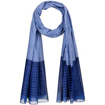 Accessoires textile Femme Echarpes / Etoles / Foulards Allée Du Foulard Chèche Ojo Bleu