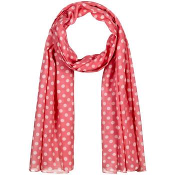 Accessoires textile Femme Echarpes / Etoles / Foulards Allée Du Foulard Chèche Polka Rose