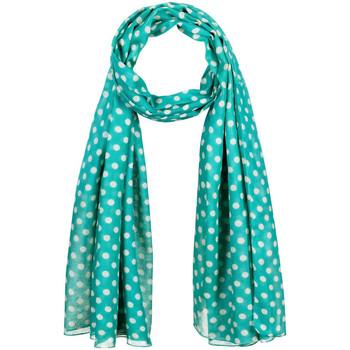 Accessoires textile Femme Echarpes / Etoles / Foulards Allée Du Foulard Chèche Polka Vert