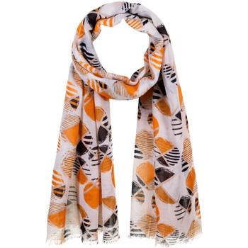 Accessoires textile Femme Echarpes / Etoles / Foulards Allée Du Foulard Chèche fantaisie Geoff Orange