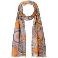 Accessoires textile Femme Echarpes / Etoles / Foulards Allée Du Foulard Foulard fantaisie Sol orange