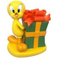 Maison & Déco Enfant Statuettes et figurines Dessins Animés Tirelire Tweete cadeau en résine - Looney Tunes Jaune