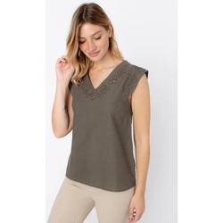 Vêtements Femme Tops / Blouses TBS ELONAMIS Vert